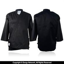 Black Middleweight Karate Jacket